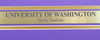 University Of Washington Huskies Unsigned Framed Panoramic Photo With Nameplate Stock #174308