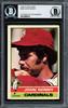 John Denny Autographed 1976 O-Pee-Chee Card #339 St. Louis Cardinals Beckett BAS #12058274
