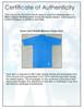 Unsigned Ichiro Suzuki Seattle Mariners Blue Short Sleeve Game Used Under Shirt IS Holo Stock #175769