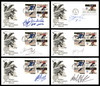 Lot of 12 Autographed NHL Hockey Players First Day Covers SKU #175956