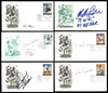MLB Baseball Autographed First Day Covers Lot of 70 SKU #175959