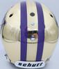 "Warren Moon Autographed Washington Huskies Full Size Schutt Replica Gold Chrome Helmet ""78 Rose Bowl MVP"" In White MCS Holo Stock #177127"