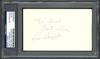 """Luis Alvarado Autographed 3x5 Index Card Boston Red Sox, New York Mets """"To Edward Best Wishes"""" PSA/DNA #83860305"""