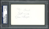 """Luis Alvarado Autographed 3x5 Index Card Boston Red Sox, New York Mets """"To Edward Best Wishes"""" PSA/DNA #83860306"""