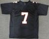 Atlanta Falcons Michael Vick Autographed Black Jersey JSA Stock #177657