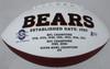 "Dick Butkus Autographed Chicago Bears White Logo Football ""HOF 79"" Beckett BAS Stock #177842"