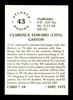 "Clarence ""Cito"" Gaston Autographed 1975 SSPC Card #18 Atlanta Braves SKU #178712"