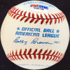 Tom Henrich & Mickey Owens Autographed Official AL Baseball New York Yankees, Brooklyn Dodgers PSA/DNA #D46118