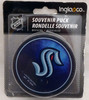 Seattle Kraken Authentic Unsigned Inglasco Team Logo Hockey Puck Limited Edition /2020 Stock #179835