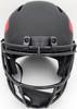 Joe Montana Autographed Kansas City Chiefs Black Eclipse Full Size Speed Replica Helmet Beckett BAS Stock #182274