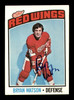 Bryan Watson Autographed 1976-77 Topps Card #228 Detroit Red Wings SKU #183168