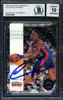 Dennis Rodman Autographed 1993-94 Skybox Card #70 Detroit Pistons Auto Grade 10 Beckett BAS #12518867