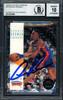Dennis Rodman Autographed 1993-94 Skybox Card #70 Detroit Pistons Auto Grade 10 Beckett BAS #12518868