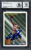 Dennis Rodman Autographed 1993-94 Fleer Card #227 Detroit Pistons Auto Grade 10 Beckett BAS #12518873