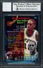 Dennis Rodman Autographed 1994-95 Stadium Club Card #72 San Antonio Spurs Auto Grade 10 Beckett BAS #12518898