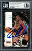 Dennis Rodman Autographed 1993-94 Skybox Card #70 Detroit Pistons Beckett BAS #12518354