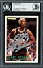 Dennis Rodman Autographed 1994-95 Fleer Card #209 San Antonio Spurs Beckett BAS #12516956