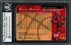 Dennis Rodman Autographed 1998-99 Fleer Ultra Card #80 Chicago Bulls Beckett BAS #12517202