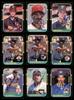 1987 Donruss Baseball Autographed Cards Lot Of 56 SKU #185579