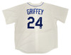 Seattle Mariners Ken Griffey Jr. Autographed White Nike Throwback Jersey Size XXL Beckett BAS & MCS Holo Stock #185605