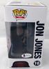 Jon Bones Jones Autographed UFC Funko POP Vinyl Figurine In Red Beckett BAS Stock #185709