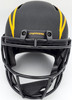 """LaDainian Tomlinson Autographed San Diego Chargers Black Eclipse Full Size Speed Replica Helmet """"HOF 17"""" In Yellow Beckett BAS Stock #185778"""