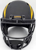 """LaDainian Tomlinson Autographed San Diego Chargers Black Eclipse Full Size Speed Replica Helmet """"HOF 17"""" In Blue Beckett BAS Stock #185792"""