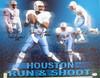 "Houston Oilers Run & Shoot Autographed 16x20 Photo ""HOF 06"" With 4 Signatures Including Warren Moon PSA/DNA Stock #185953"