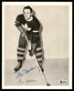 Gus Mortson Autographed 1945-54 Quaker Oats 8x10 Photo Toronto Maple Leafs Beckett BAS #Y92512