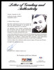 Babe Ruth Autographed Framed 6x8 Photo New York Yankees Auto Grade 9 PSA/DNA #AH00679