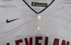 """Cleveland Indians Shane Bieber Autographed Gray Nike Jersey Size XL """"Go Tribe"""" Beckett BAS Stock #187725"""
