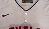 """Cleveland Indians Shane Bieber Autographed Gray Nike Jersey Size M """"Go Tribe"""" Beckett BAS Stock #187727"""