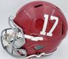 "Devonta Smith Autographed Alabama Crimson Tide Full Size Speed Replica Helmet ""Heisman 2020"" Beckett BAS Stock #189555"
