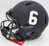 "Devonta Smith Autographed Alabama Crimson Tide Eclipse Black Full Size Speed Authentic Helmet ""Heisman 2020"" Beckett BAS Stock #189558"