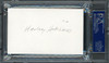 Harley Hotchkiss Autographed 3x5 Index Card Calgary Flames Owner PSA/DNA #83721474
