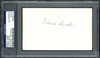 "Joseph ""Donie"" Bush Autographed 3x5 Index Card Detroit Tigers, Pittsburgh Pirates PSA/DNA #83862141"