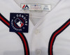 """Atlanta Braves Ronald Acuna Jr. Autographed Majestic Cool Base White Jersey Size L """"MLB Debut 4-25-18"""" Beckett BAS Stock #190025"""