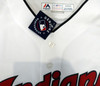"""Cleveland Indians Shane Bieber Autographed White Majestic Jersey Size XL """"2020 AL Cy Young"""" Beckett BAS Stock #190032"""
