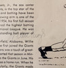 Willie Mays Autographed 8.5x11 1955 Golden Stamp Book Page New York Giants Vintage Signature Beckett BAS #12669246