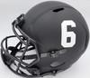 "Devonta Smith Autographed Alabama Crimson Tide Eclipse Black Full Size Replica Speed Helmet ""Heisman 2020"" Beckett BAS Stock #191976"