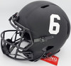 "Devonta Smith Autographed Alabama Crimson Tide Eclipse Black Full Size Authentic Speed Helmet ""Smitty"" Beckett BAS Stock #191977"