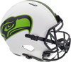 Unsigned Seattle Seahawks Lunar Eclipse White Replica Speed Full Size Helmet Stock #192172