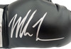Mike Tyson Autographed Black Everlast Boxing Glove RH Signed In Silver Beckett BAS Stock #192609