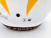 """Justin Herbert Autographed Los Angeles Chargers Lunar Eclipse White Full Size Replica Speed Helmet """"2020 NFL ROY"""" Beckett BAS QR Stock #192612"""