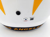 Justin Herbert Autographed Los Angeles Chargers Lunar Eclipse White Full Size Replica Speed Helmet Beckett BAS QR Stock #192613
