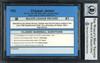 Chipper Jones Autographed 1990 Classic Rookie Card #T92 Atlanta Braves Auto Grade Gem Mint 10 Beckett BAS Stock #192889