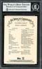 Rod Carew Autographed 2020 Topps Allen & Ginter Foil Card #10 California Angels Beckett BAS #12754577