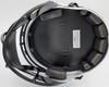 "Alvin Kamara Autographed New Orleans Saints Lunar Eclipse White Full Size Replica Speed Helmet ""2017 NFL ROY"" Beckett BAS QR Stock #193490"