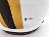 Drew Brees Autographed New Orleans Saints Lunar Eclipse White Full Size Replica Speed Helmet Beckett BAS Stock #193498