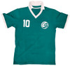 New York Cosmos Pele Autographed Green Jersey Beckett BAS Stock #194363